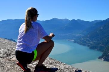 Picturesque views at Peak2